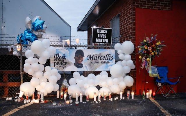 ภาพตัวกล้องและกล้อง Dash ของ Marcellis Stinnette Shooting โดย Illinois Police เผยแพร่
