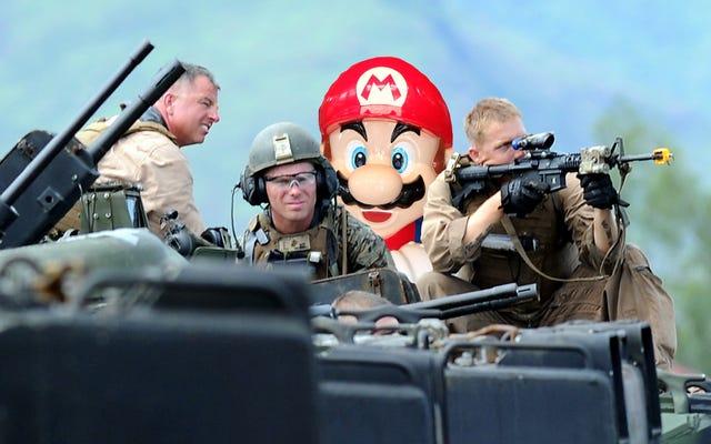 USMCは、武力戦闘に参加することは、スーパースマッシュブラザーズをプレイすることとまったく同じであることを知ってほしいと思います。