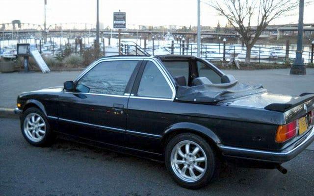 Por $ 4,000, ¿este BMW 320i Baur Cabrio 1985 podría hacerte ir en topless?