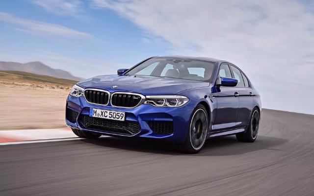 新しい全輪駆動BMWM5のその他の画像が再びリークされました