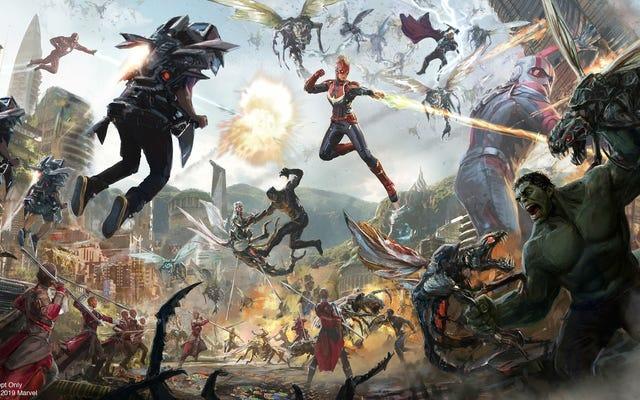 アベンジャーズ、スパイダーマン、その他のマーベルアトラクションが近い将来ディズニーパークにやってくる