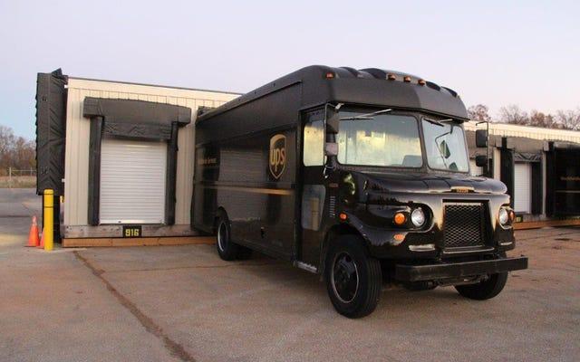 Je me fiche de votre richesse, vous ne pouvez pas acheter un camion UPS