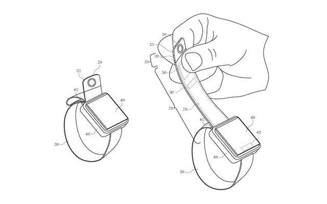 Découvrez le brevet ridicule d'Apple pour l'ajout d'un appareil photo à l'Apple Watch
