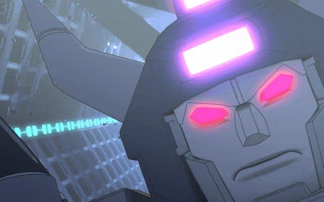 Molti robot muoiono nel primo episodio di Transformers: Combiner Wars