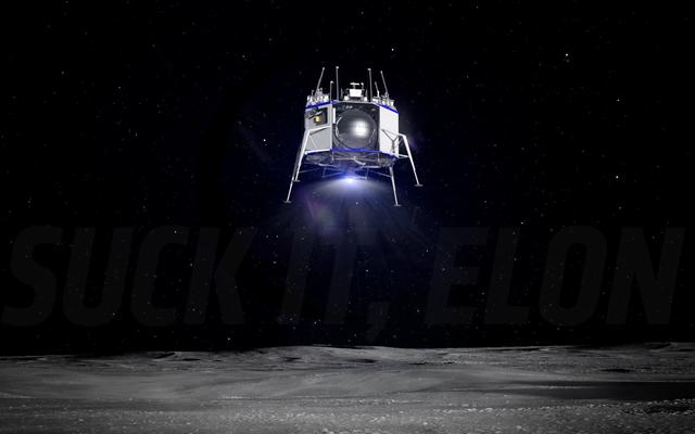 ジェフベゾスの月面着陸装置はモジュール式の多目的着陸システムです