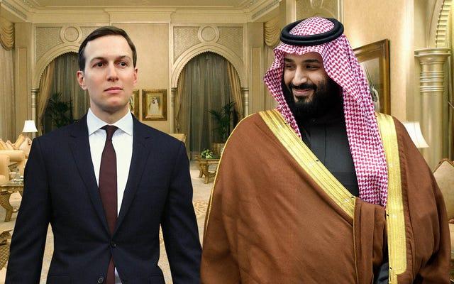 'Kamu Adalah Permata Koleksiku,' Kata Pangeran Saudi Saat Membimbing Jared Kushner yang Takut Menuju Harem