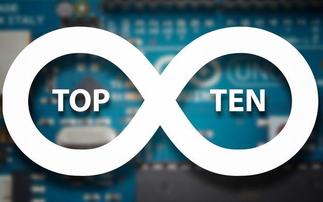 Los 10 mejores proyectos de Kickass Arduino