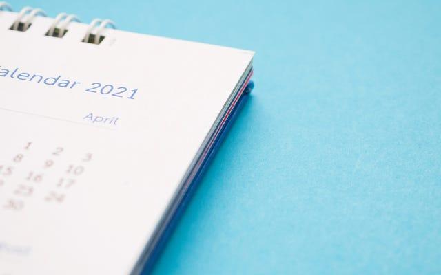 これらの主要な2021年の財務期限を今すぐカレンダーに追加してください