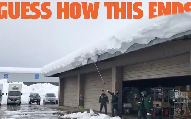 Chỉ Xem Video Nhật Bản Này Về Một Mái Nhà Tuyết Vì Nó Rất Thích