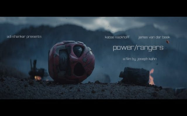 更新:非常識なパワーレンジャーの短編映画の再起動がオンラインに戻りました!