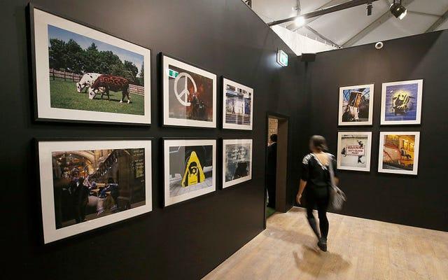 Die Banksy-Ausstellung wird vom Sub-Banksy-Künstler Banksied