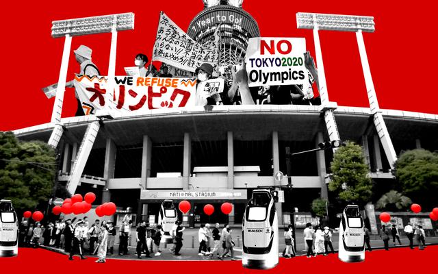 Los Juegos Olímpicos están llegando a Tokio, y también el movimiento para acabar con los Juegos para siempre