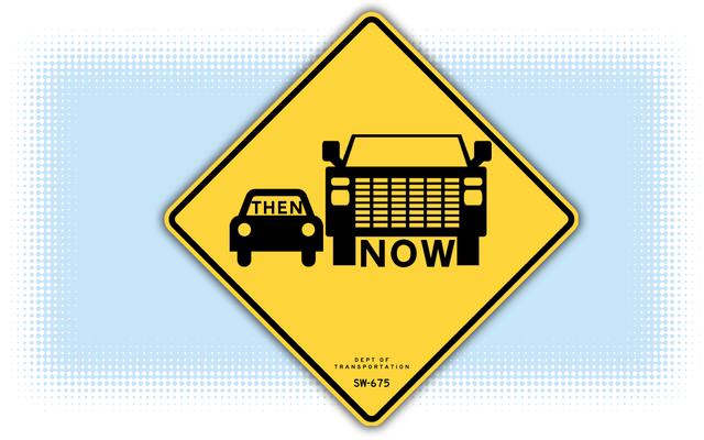 """Con le berline che vanno via, potrebbe essere il momento di cambiare l'icona predefinita """"Auto"""" con qualcos'altro"""