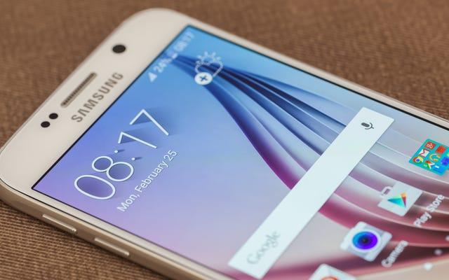 コントラストを調整して、SamsungGalaxyのキーボードの入力を簡単にします