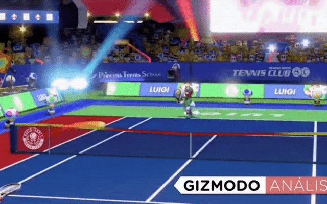 Mario Tennis Aces, başkalarıyla oynamak için mükemmel, ancak yalnızlar için çok kısa