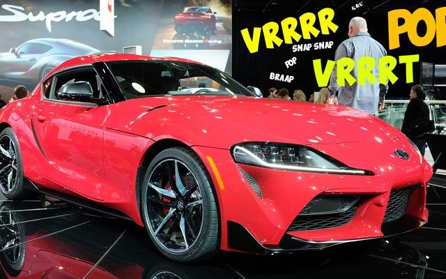 2020 Toyota Supra'nın Egzoz Sesini Bulabildiğim Her Video