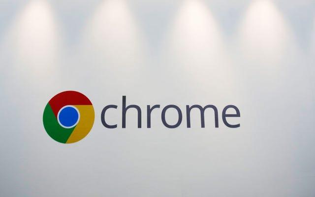 Chromeの最新バージョンは、タブがバッテリーを消耗するのを防ぎます
