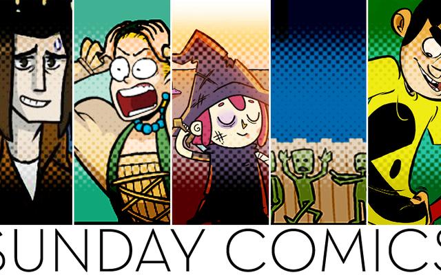 Sunday Comics: Quasi finito