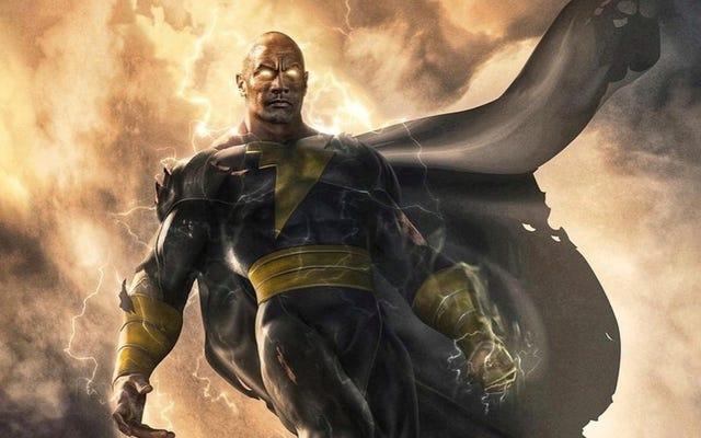 ब्लैक एडम, नई डीसी कॉमिक्स फिल्म, 2021 में आती है