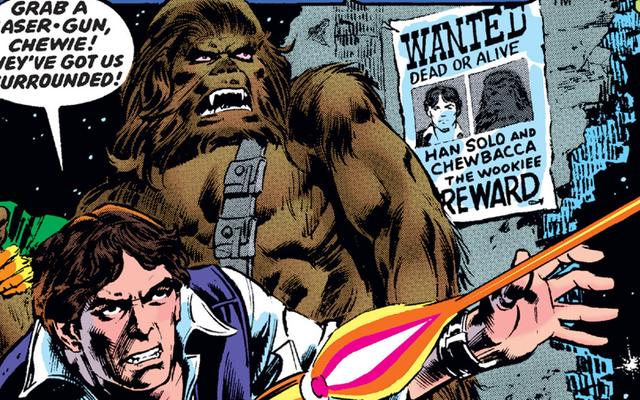 Una de las primeras historias de Star Wars de Marvel fue una extraña y maravillosa épica de Han Solo