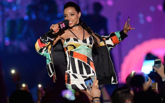 Tinashe Drops Tracks, est peut-être en train de sortir avec Calvin Harris. Et maintenant, Nouveau Monde?
