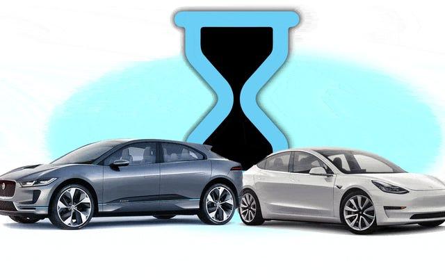 自動車メーカーが電気自動車を完全に充電するのにかかる時間を宣伝しない理由はここにあります