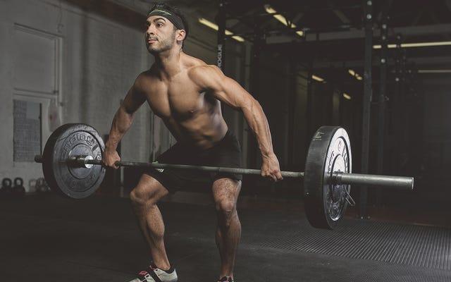 Вам не нужно поднимать тяжелые веса, чтобы нарастить мышцы