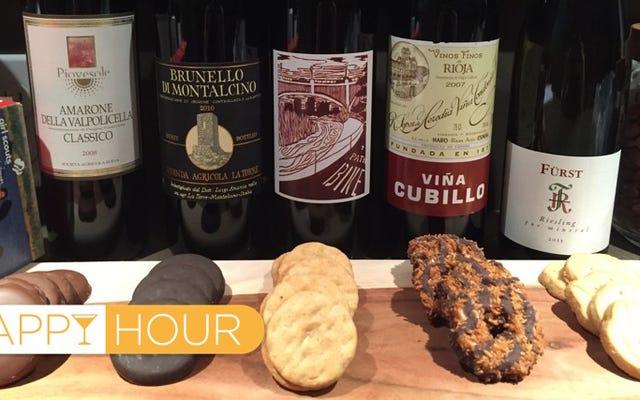 ガールスカウトのクッキーに最適なワインの組み合わせ、テスト済み