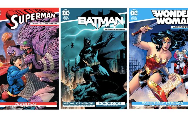 Последняя попытка DC сохранить интерес к комиксам - переработанные цифровые названия