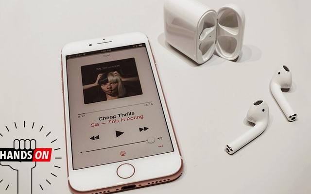 ฉันติด AirPods ของ Apple ในหูของฉันและมันก็ไม่ได้แย่มาก