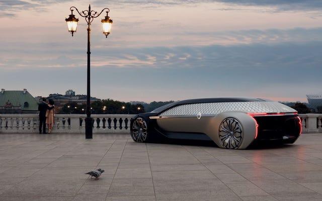 Le nouveau concept de véhicule robotique de luxe de Renault est magnifique Vaporware