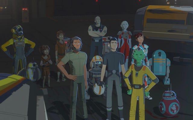 รอบปฐมทัศน์ของ Star Wars Resistance Season 2 เกิดขึ้นเกือบทั้งหมดใน Zero Gravity