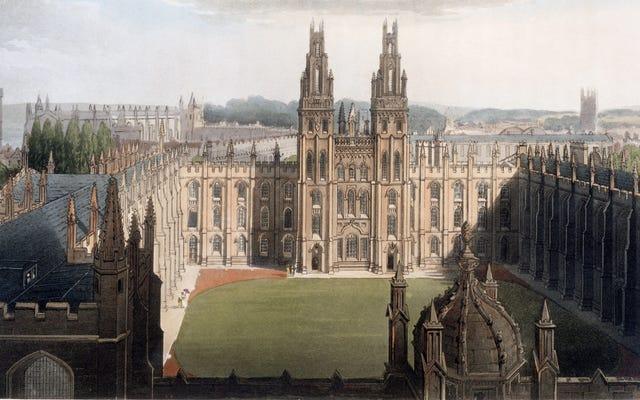 アニマルハウスは1355年のオックスフォードのクラスと比較して飼いならされました