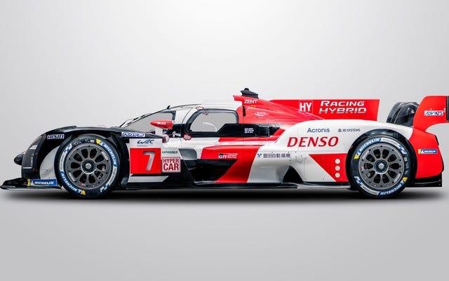 El GR010 Hybrid es el Hypercar Challenger de Toyota para Le Mans Glory