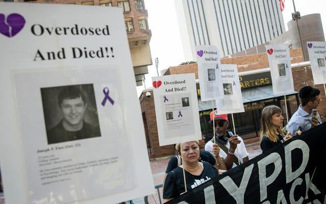 Опиоидный кризис снова сократил продолжительность жизни в США