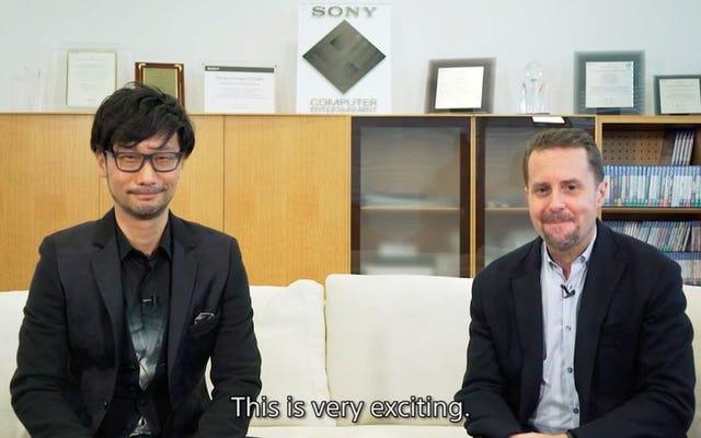 Hideo Kojima, Sony ile ilk oyunu özgür bir adam olarak ortak olan Konami'den ayrıldı