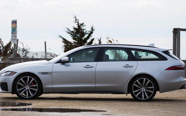 Co chcesz wiedzieć o Jaguar XF Sportbrake 2018?