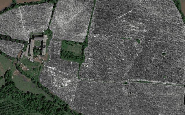 地中レーダーは古代ローマの都市全体を明らかにします