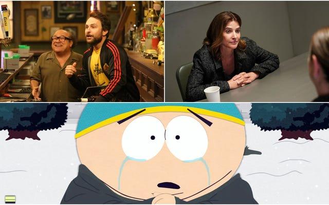 Fall TV ne s'arrêtera jamais, pas tant que nous ne serons pas tous enterrés sous Philadelphie, South Park ou Stumptown