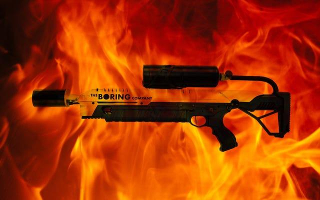 Est-il légal de posséder un lance-flammes ?