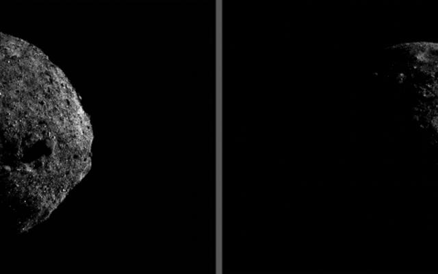 いいえ、小惑星ベンヌはバレンタインデーに地球にぶつかったり、肉眼で見えることはありません。