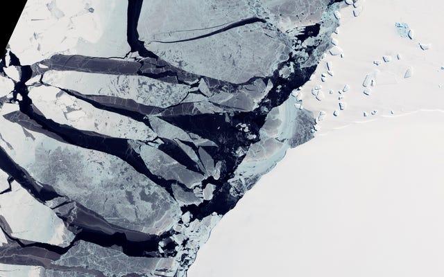 南極の最も安定した地域での古代の氷の喪失は、何が起こるかについての暗い絵を描きます