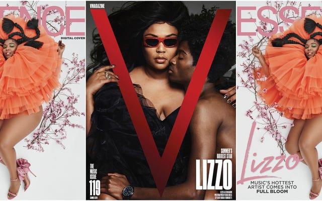 Lookin 'Good as Hell: Lizzo mène la charge sur les couvertures de magazines de juin!