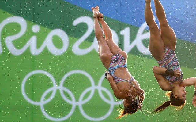 オリンピックのダイビングチームが性交フェストの疑いで解散した