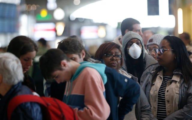 EUの空港はトランプの不正確なCovid-19アドレスをめぐって混乱に移る