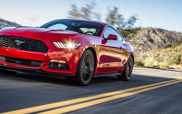 フォードマスタングEcoBoostが遅くなっている:レポート(更新)