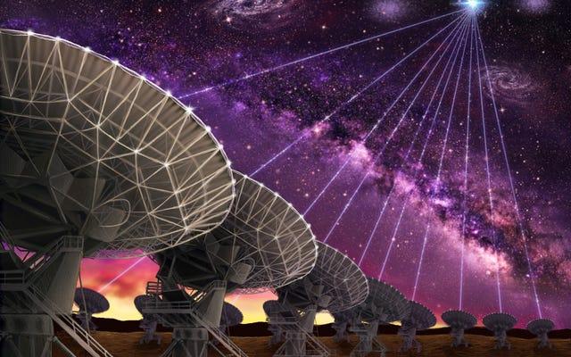 Les astronomes ont localisé l'emplacement de plusieurs sursauts radio étranges au-delà de notre galaxie