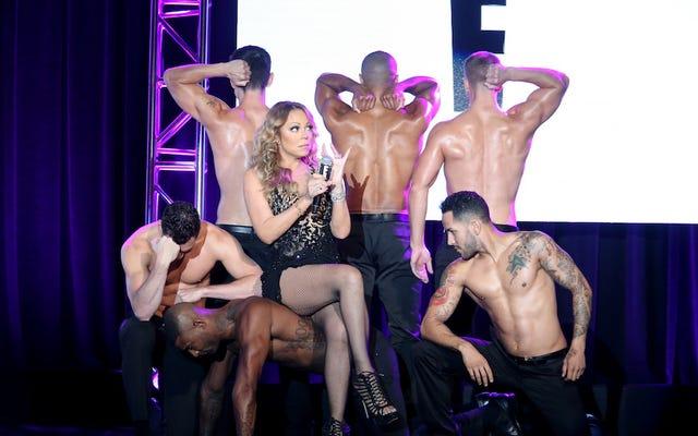 La présentation TCA de Mariah Carey ressemble à un seau de rires