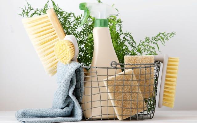 ผลิตภัณฑ์เหล่านี้เป็นผลิตภัณฑ์ทำความสะอาด 'ธรรมชาติ' ชนิดเดียวที่ใช้งานได้จริง