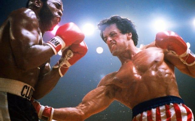 Les trois premiers films Rocky n'étaient rien d'autre que la réalisation d'un souhait blanc